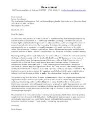PhD Cover Letter  Political Science