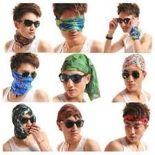 biker bandanas 5 pcs lot ac042 ac049 outdoor hat cycling turban head scarf sports face mask