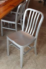 aluminum dining chairs aluminum crate barrel