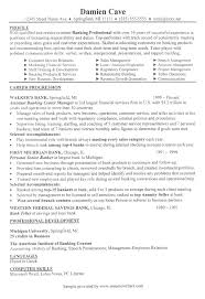 related free resume examples resume examples for banking jobs