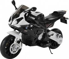 Детский <b>электромотоцикл Jiajia BMW</b> S1000PR 12V (черный ...