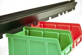 <b>Стеллажи с ящиками</b> для метизов и мелкого товара.