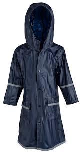 Girls <b>Kids</b> Waterproof Full Length <b>Long</b> Hooded <b>Raincoat</b> Jacket ...