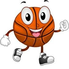 basketball clip art happy