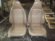 bmw z3 front seats pair tan fit 96 02 bmw oem 96 02 z3 seat