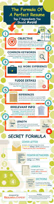 best ideas about perfect resume job search job the formula of a perfect resume infographic career resume
