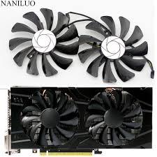 <b>2pcs</b>/<b>set</b> P106 GTX 1060 GPU VGA cooler For MSI GeForce ...