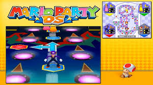 Mario Party DS - Story Mode - Part 29 - Bowsers Pinball Machine (1/2)