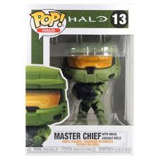 <b>Фигурка Funko POP</b>! Vinyl: Games: <b>Halo</b> Infinite: Master Chief ...
