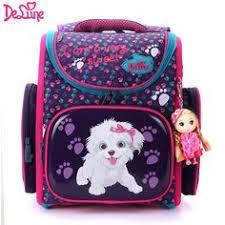 <b>Delune Brand Primary Grade</b> 1-3 Kids 3D Cartoon School bags ...