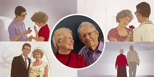 Картинки по запросу фото літнього щасливого подружжя