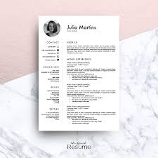 resume template ms word julia resume templates on creative resume template ms word julia resume templates on creative market