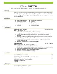 media resumes social media marketing resume sample
