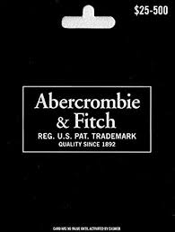 Amazon.com: Abercrombie & Fitch Gift Card $50: Gift Cards