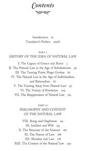 the natural law  a study in legal and social history and    title page toc