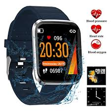 Litake <b>Smart Watch Fitness</b> Tracker,HD Color Screen 116 Pro Smart ...