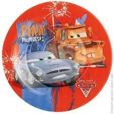<b>Тарелка десертная LUMINARC Disney</b> Cars 2 19см (L2129)