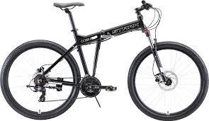 "<b>Велосипед Stark Cobra</b> 27.2 HD (2020), черный, белый, 27"", рама ..."