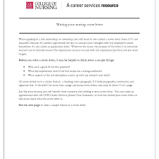 cover letter experience resumes per nk to cover letter examples for nurses