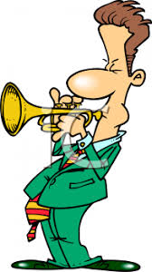 Image result for cartoon trumpet /No royalty