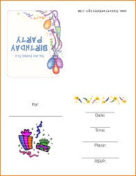 birthday party invitation templates printable com able birthday invitation templates employees salary slip