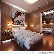 bedroom paneling ideas: apartment in yacht style panel bed