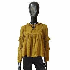 <b>Блуза Souvenir</b> охра :: купить в интернет-магазине по цене 14 ...