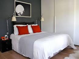 Camera Da Letto Grigio Bianco : Idee per arredare la camera da letto in rosso e grigio