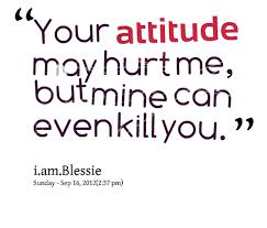 Attitude Quotes. QuotesGram