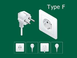 <b>German</b> SCHUKO, <b>plug type F</b>: Electrical <b>plug</b> type used in Austria