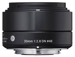 <b>Sigma Af 30mm f/2.8</b> DN/A, Black объектив для Sony E (NEX) | Art ...