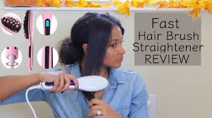 <b>Fast Brush Hair Straightener</b> | Curly <b>Hair</b> Review | lovekenziie ...