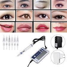 2 Types <b>Digital Permanent Makeup</b> Machine <b>Microblading</b> Pen ...