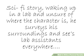 easy ways to write a personal narrative with pictures image titled write a personal narrative step