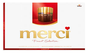 Купить Набор <b>конфет Merci</b> шоколадное <b>ассорти</b>, 400 г с ...