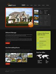 html template real estate website