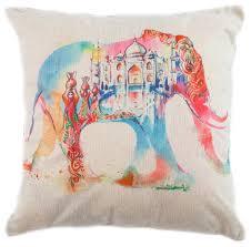 Чехол для <b>подушки</b> Pastel Розовый слон <b>45х45</b> см (1315511 ...
