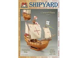 Купить <b>Сборная картонная модель Shipyard</b> каравелла Pinta (№64)