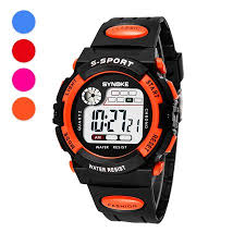 Kids <b>Sport Watches</b>, Multi-Function 30M <b>Waterproof Watch LED</b> ...