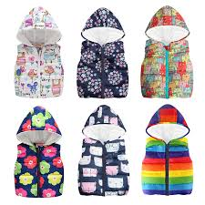 Cheaper <b>Autumn Winter Warm Kids</b> Vests For Boys Cartoon rainbow ...