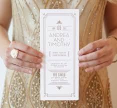 gold art deco wedding invite httpvintagetearosescomvintage 1920s art deco inspired pinterest