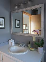idea bathroom mirror light fixtures