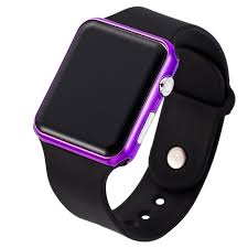 <b>2019 New</b> Unisex Digital LED Sports Watch Silicone Band Wrist ...