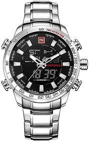 NAVIFORCE 9093 Watch Men Top Brand Luxury ... - Amazon.com