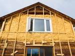 Утепление деревянного дома профнастилом