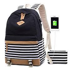 <b>Women Backpack</b> Laptop Fashion Travel <b>USB</b> Charging <b>Bag</b> for ...
