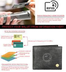 Buy WildHorn® RFID Protected Genuine <b>High Quality</b> Leather ...