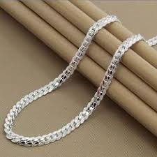 <b>LJ&OMR Silver</b> chain collar 925 <b>Sterling Silver</b> Necklace ...