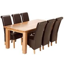 Brown Leather Dining Room Chairs White Leather Dining Room Chairs Dekoratornia