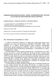 (PDF) Limoniastrum monopetalum (L.) Boiss. (Plumbaginaceae ...